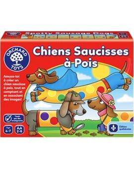 Chiens Saucisses À Pois - Orchard Toys