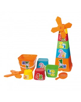 Androni Blocs Empilables Moulin N19