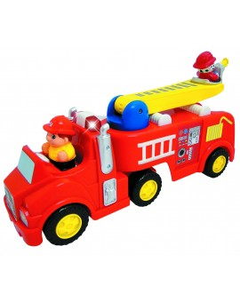 Camion de pompier Light-n-sound Kiddieland