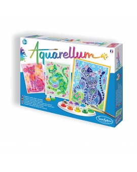 Aquarellum Grand format - Chats