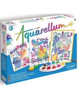 Aquarellum Grand format - Oiseaux