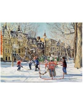 C.T. 1000mcx Trefl Partie de Hockey par Michel Lapensée