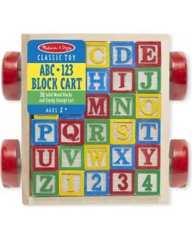 Charriot de blocs ABC-123