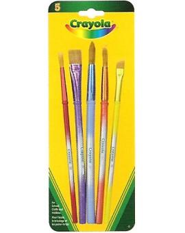 Crayola Ens.5 Pinceaux