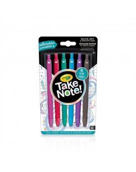 6 Crayons Gel