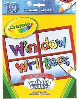 Crayola Marqueurs Fenetre