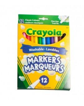 Crayola Marqueurs 12 Fins Original