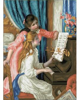 Diamond Dotz Girls At The Piano