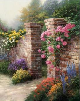 Diamond Dotz Thomas Kinkade - The Rose Garden