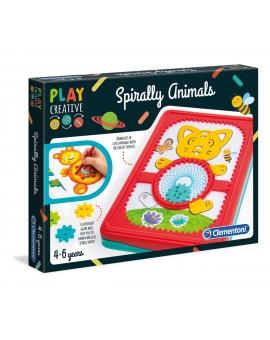 Clem.animaux En Spirales N20