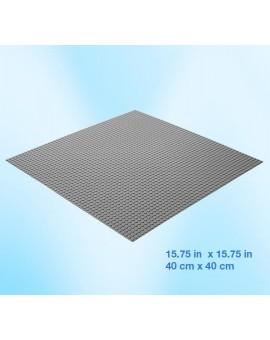 Brictek Plaque grise 40x40