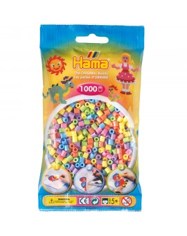 Sachet De 1000 Perles Pastel - Hama