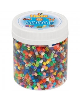 3000 perles en pot Hama