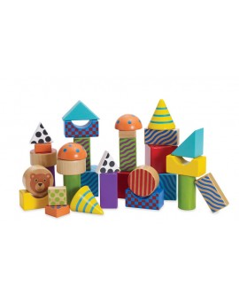 Blocs à empiler Manhattan Toys