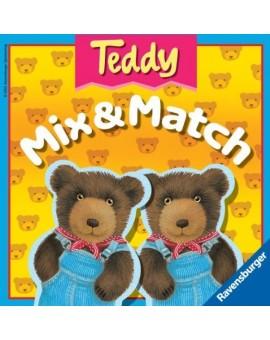Jeu de mémoire Teddy Mix&Match