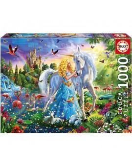 C.t. 1000  Educa  La Princess & La Licorne  N21