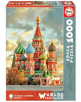 C.T 1000 Cathédrale St-Basile Moscou (N20)