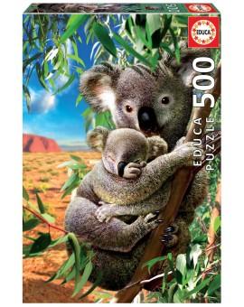 Educa C.t.500 Maman Koala Et Son Bebe