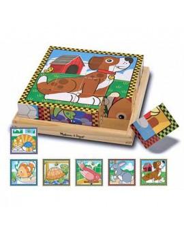 C.T Cubes animaux domestiques