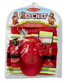 Melissa&Doug Costume de pompier