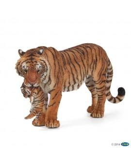 Papo figurine Tigresse et son bébé