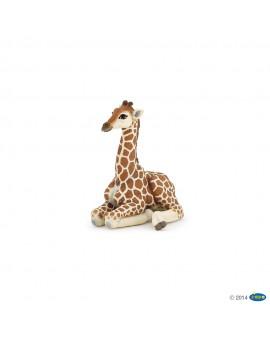 Papo figurine Girafon couché
