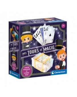 Tours de magie - Cartes magiques et coffre-fort (N21)