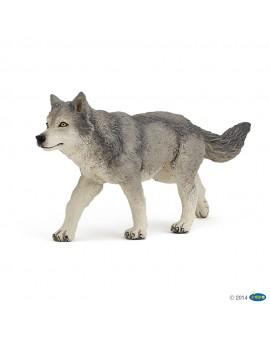 Papo figurine Louve grise