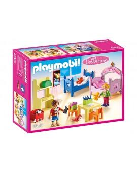 Playmobil 5306 Chambre d'enfants avec lits superposés