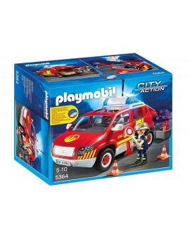 Playmobil 5364 Véhicule d'intervention avec sirène