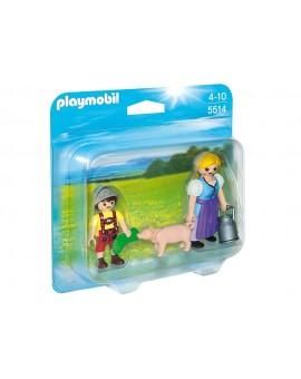 Playmobil 5514 Duo Paysanne et enfant