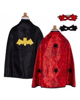 Cape Batman & Spiderman