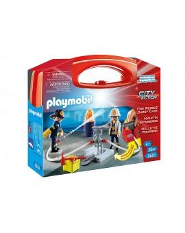 Playmobil 5651 Coffret de Pompiers