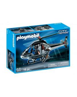 Playmobil 5675 Helicoptère tactique de la police