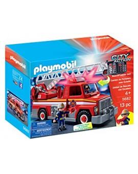 Playmobil 5682 Camion de pompiers avec échelle