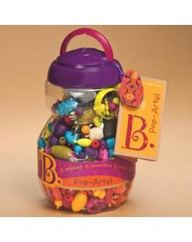 B. Brand Seau de perles Pop-arty 500 pièces