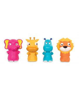 B.Baby - Marionnettes à doigts Zoo Pinky Pals