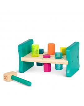 B.Woody - Petit établi en bois coloré