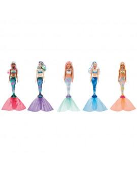 Barbie Color Reveal Sirène assorties