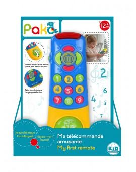 Pako Telecommande Bilingue N19
