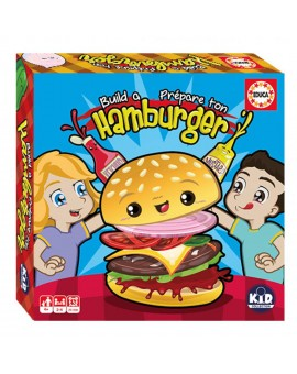 Educa - Jeu Prépare ton hamburger