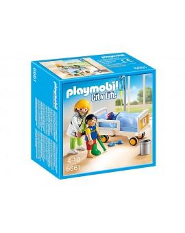 Playmobil 6661 Chambre d'enfant avec Médecin