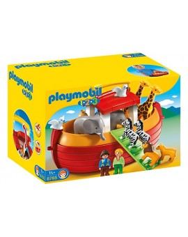Playmobil 1-2-3 6765 Arche de Noé transportable