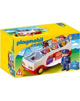 Playmobil 1-2-3 6773 Autocar de voyage