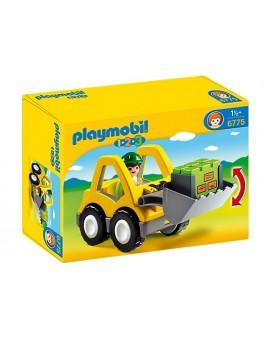 Playmobil 1-2-3 6775 Chargeur et ouvrier
