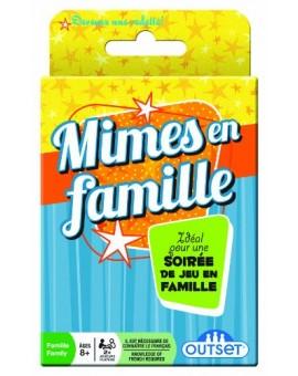 Cartes Mimes en famille