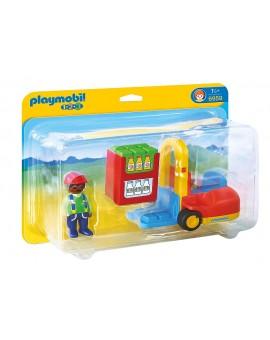 Playmobil 1-2-3 6959 Chariot élévateur