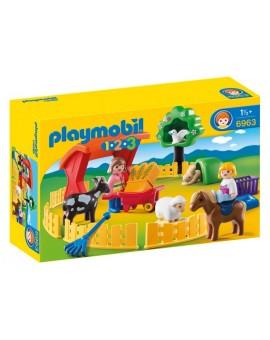 Playmobil 6963 1-2-3 Parc Animalier