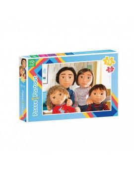 C.t 70 Famille De Marionnettes (passe-partout) N19