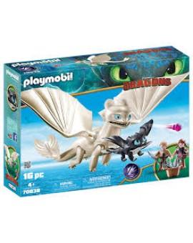 Playmobil 70038 Furie éclair Et Bebe Dragon N19